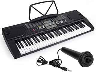 Kmise Digital Electric Eletronic Piano Keyboard 61 Keys Electronic Piano Keyboard LCD Screen