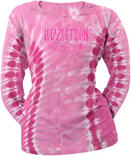 Logo Tie Dye Ladies Long Sleeve