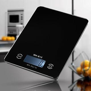 ميزان مطبخ رقمي للطعام بشاشة ال سي دي دقيقة تعمل باللمس من ديكديل بإضاءة خلفية بمجال 5 كغم/1غرام للوزن الالكتروني بالوحدات...