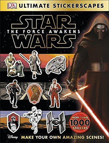 """[Star Warsâ""""¢ The Force Awakens Ultimate Stickerscapes] [By: DK] [September, 2015]"""