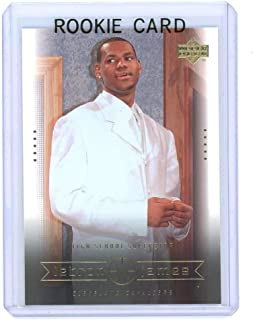 2003 Upper Deck #7 High School Superstar Lebron James Rookie Card - Mint Condition Ships in a Brand New Holder