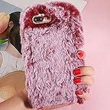 HTC Desire 12Plus Art Case, Handmade Fluffy Villi Wool Cute