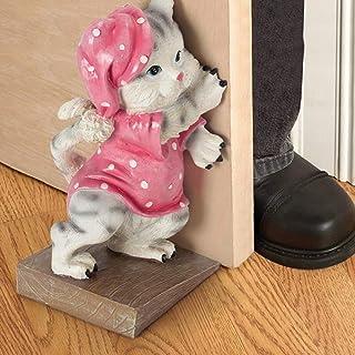 Puerta de Resina Cuña Gato Perro Tapón de la Puerta, Estantería Paradas de Puertas Lindas Decoración del hogar Fiesta Puerta Jammer Mujeres y niñas Regalos for Boda (Size : Cat)