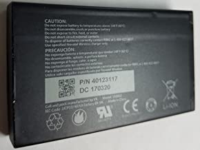Original Standard Battery for Novatel Jetpack MiFi 7730L Mobile Hotspot - P/N: 40123117 4400 mAh