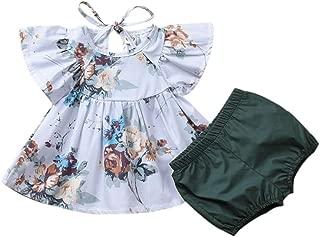 Newborn Clothes Sleeveless Ruffled Shorts