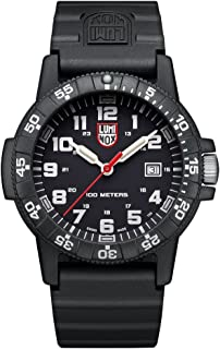 Luminox 0321 Leatherback SEA Turtle Giant Black Mens Watch 0320 Series