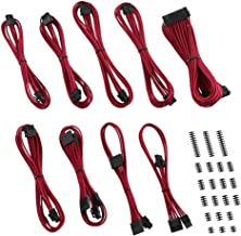 CableMod Classic ModFlex E-Series Cable Kit for EVGA G5 / G3 / G2 / P2 / T2 - RED [CM-EV2-CKIT-KR-R]