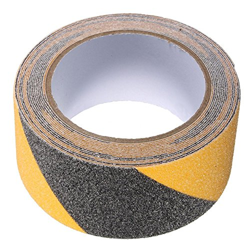 kglobal 5cm x 5m Banda Da Pavimento sicurezza non Skid anti-scivolo adesivo decalcomania per strip Waring