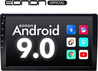 Eonon Car Stereo,Double Din Car Stereo, Car Radio 10.1 Inch GPS Navigation for Car,Support Android Auto and Carplay Head Unit Support WiFi/Fast Boot/DVR/Backup Camera/OBDII-(NO DVD/CD)-GA2178