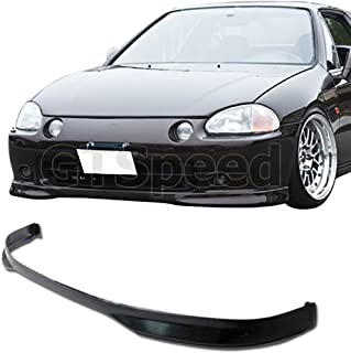 Remix Custom For 1993-1997 Honda Del Sol Front Body Bumper Lip Kit Spoiler Type-R Style