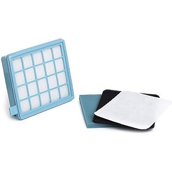 Green Label Kit de Filtros para Aspiradoras Philips PowerPro Active y Compact. Reemplaza a FC8058,01: Amazon.es: Hogar