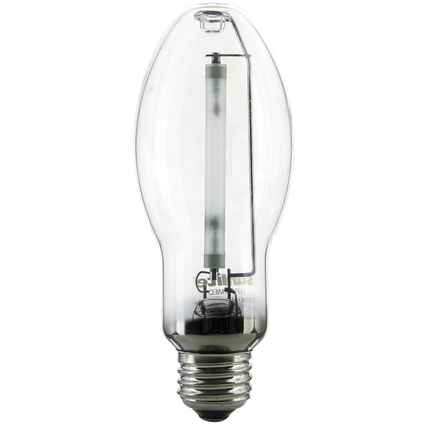 Sunlite 03620-SU LU150/MED 150 Watt HPS ED17 High Pressure Sodium Light Bulb, Medium Base, Clear