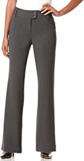 Women's Petite Curvy-Fit Gabardine Trouser
