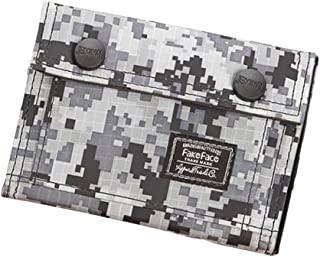 Mens Digital Camouflage Wallet Casual Canvas Trifold Purse Cards Coins Holder