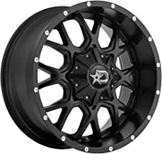DROPSTARS - 645B Satin Black with Milled Lip Accents (18