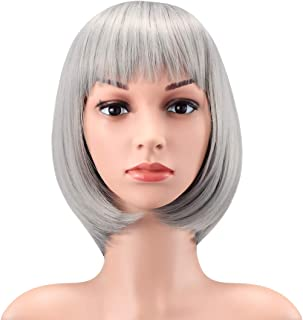 WENDY HAIR Heat Resistant Short Bob Hair Wigs 12