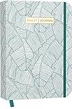 Bullet Journal 'Jungle Green' 05: Mit Punkteraster, Seiten für Index, Key und Future Log sowie Lesebändchen, praktischem Verschlussband und Innentasche