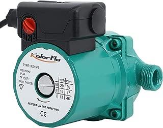 KOLERFLO 110V Circulating Water Pump Hot Water Circulation Pump/Circulator Pump for Hot Water System(RS15-6 Green)