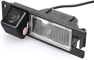 Navinio Auto Nachtsicht Rückfahrkamera Einparkkamera Kamera Einparkhilfe Farbkamera Rückfahrsystem Einparkkamera Wasserdicht für Opel Astra H Corsa D Vectra C Tigra Meriva A Regal Buick Insignia