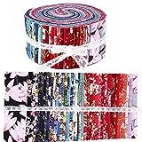 Roll Up Baumwollstoff Quilting Streifen, Stoff Jelly Rolls,