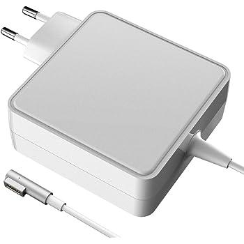 """60 Watt Caricatore Notebook Adattatore 60W Alimentatore MagSafe 1 forma di L Caricatore per MacBook e MacBook Pro 11"""" 13"""" - Inizio 2009 a Metà 2011 Unibody Modelli"""