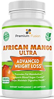 African Mango Ultra (Irvingia Gabonensis) - Proprietary Formula for Women and Men from Premium Fusion