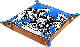 Vockgeng Ailes d'aigle Boîte de Rangement Panier Organisateur de Bureau Plateau décoratif approprié pour Bureau à Domicile...