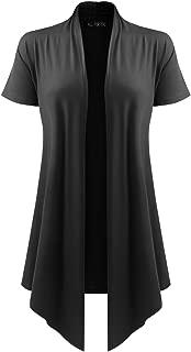 short sleeve cardigan plus size