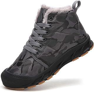 Botas de Invierno para Niño Niña Zapatos de Nieve Botines Calzado Calentar Forrada Boots