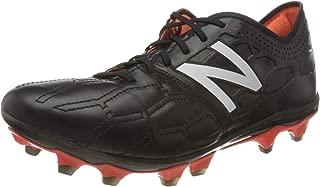 New Balance Visaro 2.0 Pro K Leather FG Football Boots - Adult - Black/Alpha Orange - UK 9.5