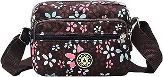 New Korean Women's Bag Messenger Bag Nylon Cloth Shoulder Bag Youth Fashion Portable Specials Small Bag Single Messenger Bag (Color : E)