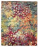 RugVista Teppich Davina, Kurzflor, 250 x 300 cm, Rechteckig, Modern, Öko-Tex Standard 100, Polypropylen, Schlafzimmer, Wohnzimmer, Bunt