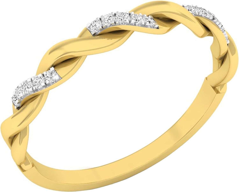 Dazzlingrock Collection 0.05 Carat ctw Diamond Gold 55% OFFicial shop OFF Round 18K