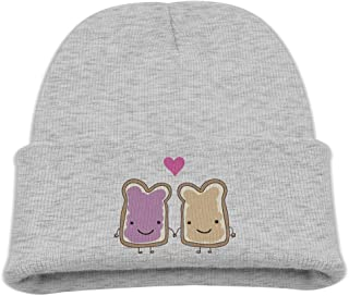 Peanut Butter and Jelly Baby Beanie Hat Toddler Winter Warm Knit Woolen Watch Cap for Kids