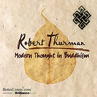 Modern Thought in Buddhism audiobook cover art