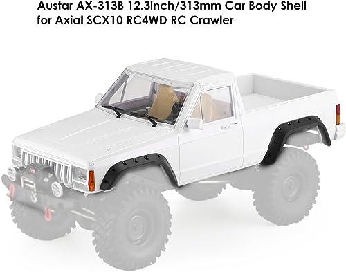 Ballylelly-AX-313B 12.3 Zoll 313mm Radstand Pickup Body Shell Bausatz für 1 10 RC Truck Crawler Axial SCX10 & SCX10 II 90046 90047