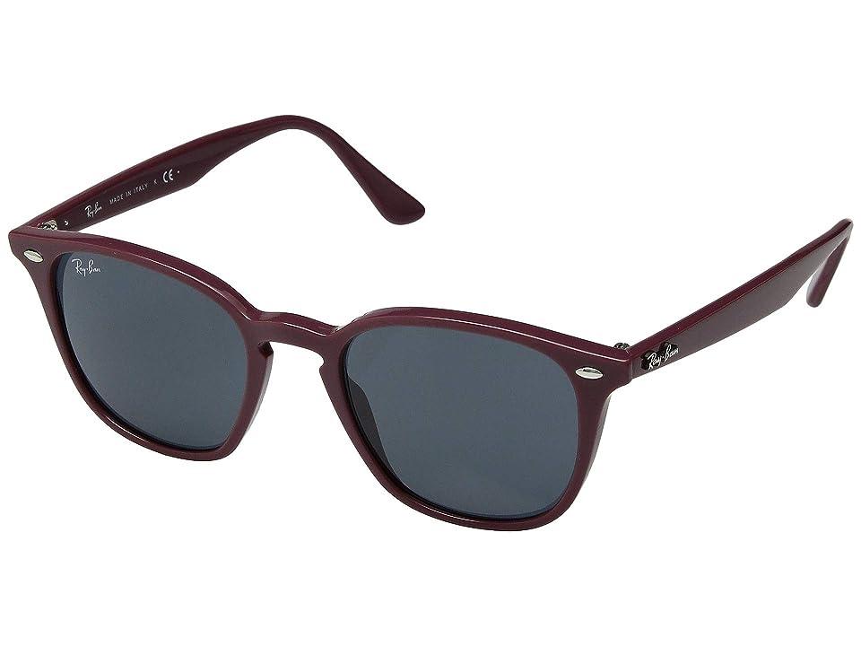 84f1f7d110 Ray-Ban 50 mm RB4258 (Bordeaux Dark Grey) Fashion Sunglasses