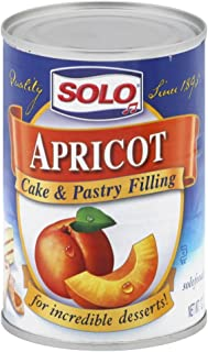 Solo Apricot Filling, 12 Ounce (Pack of 6)