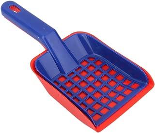 1 Set Plastic Cat Pet Animal Litter Tray Poop Sieve & Scoop Scooper Shovel