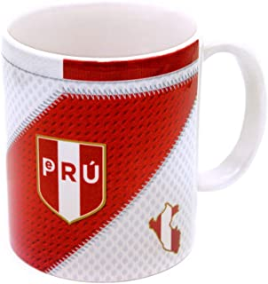 Gio Gifts Peru Mug Soccer Coffee/Tea Mugs & Cups 11 Oz Collectible