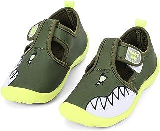 nerteo Boys Girls Cute Aquatic Water Shoes | Rainbow,...