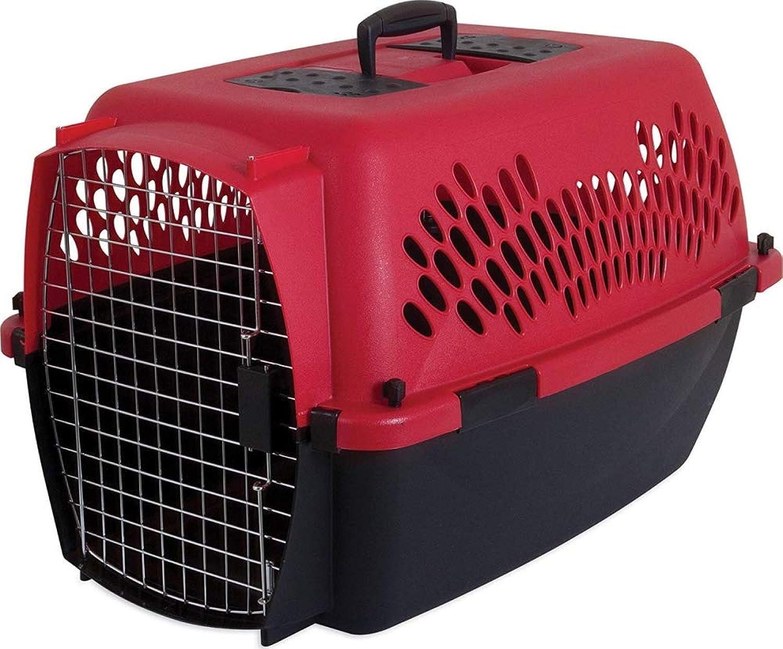 Samba Large Kennel, Fashion Taxi Pet 21090 Red Petmate
