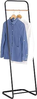 WOLTU SR0078 Porte-vêtements 40x40x140cm en Fer,Portant à vêtements moderne,Noir