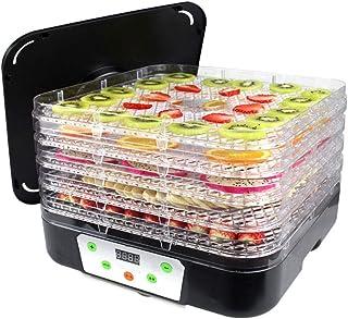 YUNTAO Food dehydrator, Fruit Dryer, Small Multi Function Temperature Controlled Food Grade PP Food Dehydrator, 350W