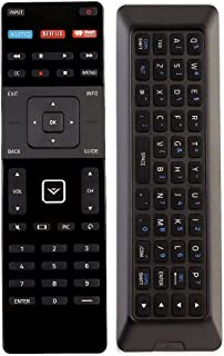 New XRT500 XUMO LED LCD REMOTE with QWERTY Keyboard & Smart APPS for VIZIO TV E401ia3 M801d-A3 E401i-a3 M321i-A2 M401i-A3 M602I-B3 M602I-B3 M322I-B1 M422I-B1 M701DA3 M501d-A2R M801d-A3 M601d-A3