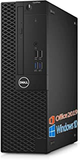 【Amazon.co.jp 限定】DELL デスクトップPC 5040/MS Office 2019/Win 10/Core i5-6500/HDMI/WIFI/DVD-RW/16GB/(整備済み品) (SSD 512GB)