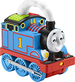 Thomas & Friends Storytime Thomas, Interactive Push-Along Train with Lights, Music and Stories for Toddlers and Preschool ...