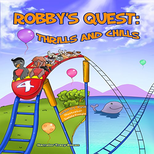 Robby's Quest: Thrills and Chills audiobook cover art