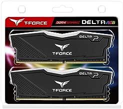 Ram Team T-Force Delta II RGB Series 16GB (2 x 8GB) 288-Pin DDR4 3000 Desktop Memory