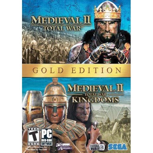 MEDIEVAL 2 TOTAL WAR GOLD EDITION PC